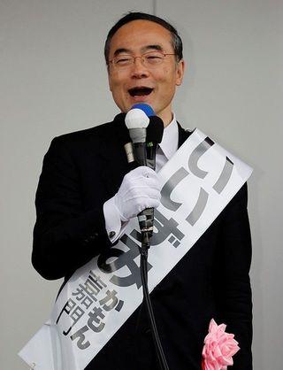 徳島県知事選 飯泉氏の第一声