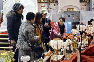 香港の旅行社企画ツアー ビッグひな祭り訪問 勝浦町 季節定期便活用し誘客
