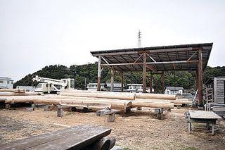 「自分が建てたい家がログハウス」高知県から移住した徳島のログビルダー