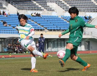 鳴門渦潮、準決勝進出ならず 全日本高校女子サッカー