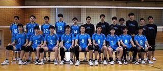 【全日本高校バレー】徳島科技男子が初戦敗退 慶應義塾に1-2で敗れる
