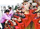 勝浦町の「ビッグひな祭り」PR 徳島県庁に色鮮やか…