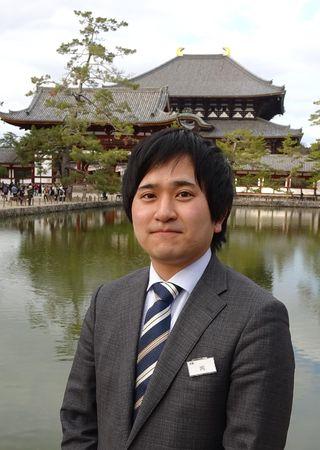 岡大二郎さん(東大寺寺務所職員)