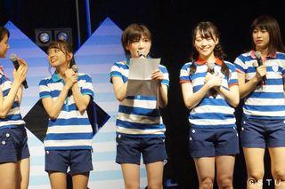 STU48、SKE48劇場などで出張公演 7、8月、陸上公演千秋楽でサプライズ発表