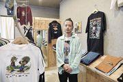 徳島駅近くのポッポ街で古着屋を開業 「好きなことして生きていけることを証明したい」
