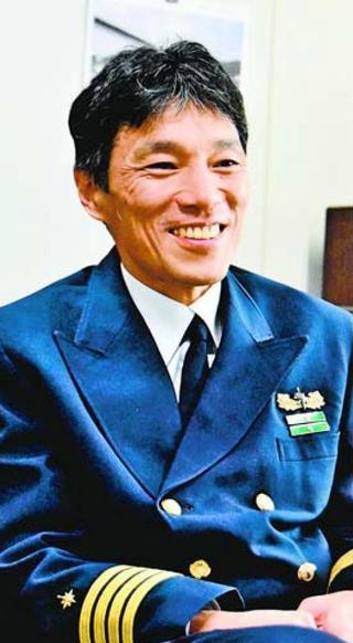 徳島海上保安部長に就任した 春藤光さん
