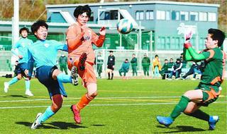 【県高校新人サッカー】 徳島市立が4年ぶりV