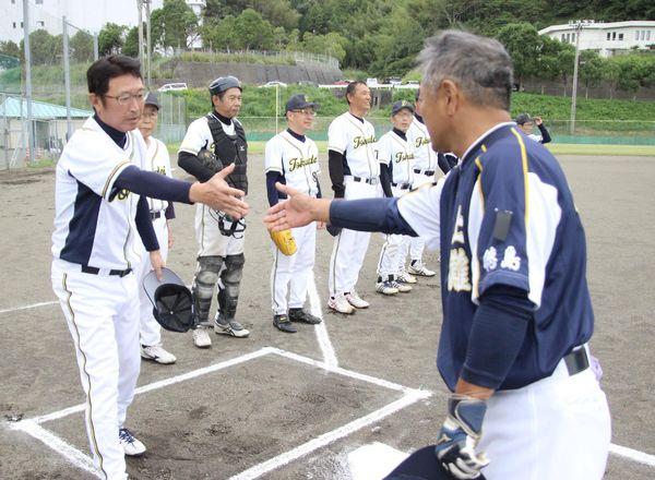 徳島大学と上灘オールスターズ