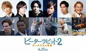 映画『ピーターラビット2/バーナバスの誘惑』(6月25日公開)日本語吹替版の声優を発表