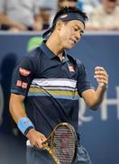 男子テニス、錦織は2回戦敗退