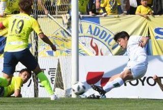 ヴォルティス、栃木に1-1 連敗ストップも3試合ぶり勝利ならず