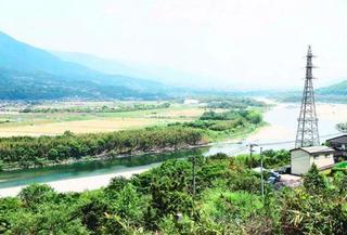 「にし阿波の花火」開催決定 国交省、河川敷の占用許可