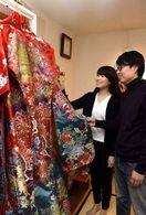 芸術の島で愛を誓う 牟岐・出羽島で40年ぶり結婚式