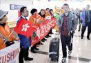 香港―徳島便就航1カ月、搭乗率75・4%