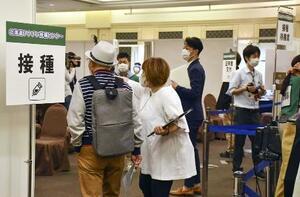 札幌市のワクチンの大規模接種会場