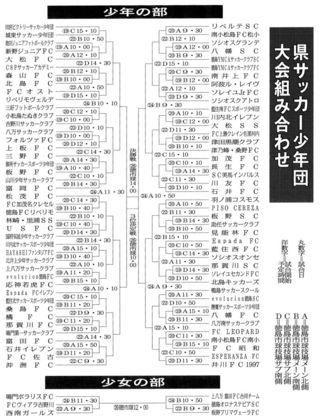 県サッカー少年団大会 試合日程 決まる