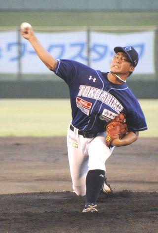 徳島逃げ切りM7 新田(徳島北高出)プロ初勝利 四国ILプラス