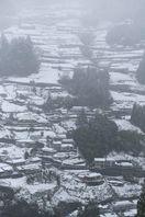 東祖谷で積雪10センチ 徳島冷え込み、西部で雪