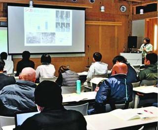 シイタケ栽培の効率的方法報告 徳島市で林業研究発表