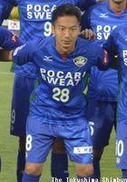 栃木ウーヴァFCへ移籍が発表されたMF井澤惇=2017年6月、鳴門ポカリスエットスタジアム