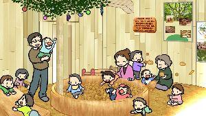 「すきっぷの森 もっく」のイメージ(Kネットとくしま提供)