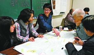 「事前復興」で備えよう 牟岐のキャンプで30人学ぶ
