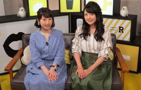AbemaTV『声優と夜あそび』水曜MCの(左から)五十嵐裕美、三上枝織 (C)ORICON NewS inc.