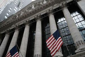 ニューヨーク証券取引所=16日(ゲッティ=共同)