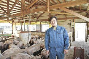納田明豊さん。「個人のファンを作りたい」という思いが強く、地元優先で提供している。