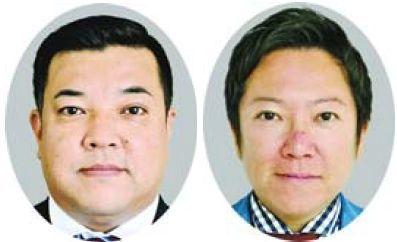 [左]吉田基晴氏 [右]藤田恭嗣氏
