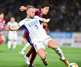 【写真】徳島ヴォルティス、琉球に1-2で敗れ、2連敗