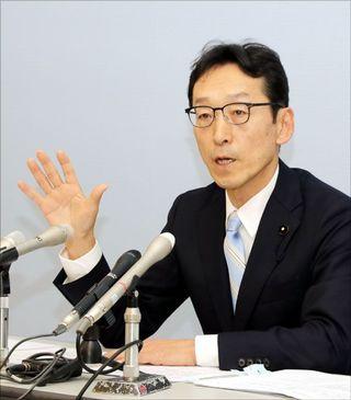 徳島県知事選 岸本県議が出馬表明「多選の是非 県民に問う」