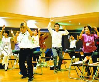 阿波踊り体操で健康寿命延ばそう 東みよしで講座