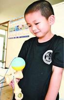 けん玉初段に最年少合格 鳴門の田崎信隆ちゃん(4歳…