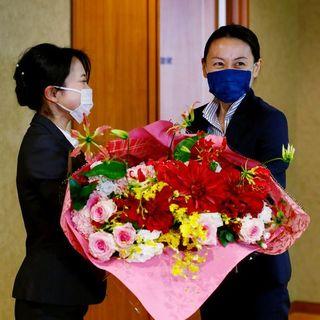 内藤佐和子徳島市長、公務本格スタート