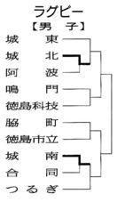 徳島県高校総体ラグビーの試合結果