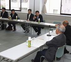 麻の生産復活に向け設立した推進協議会の第1回総会=吉野川市役所