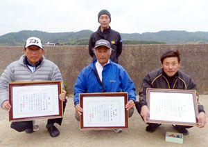 県釣連盟クラブ対抗磯釣り大会2回目の入賞者の皆さん