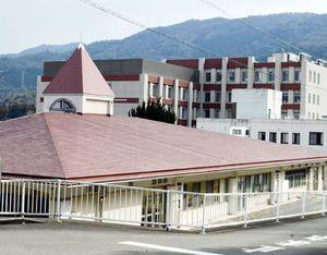 東徳島医療センターに機能を移す徳島病院=吉野川市鴨島町敷地