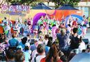 一糸乱れぬ群舞披露 徳島県阿波踊り協会が香港で公演