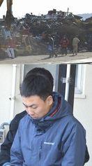県内でヤード初摘発 廃棄物違法処理 中国人5人逮捕