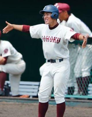 【夏空~高校野球徳島大会から】支えてくれた仲間鼓舞 岡田 翔偉主将 (城北)