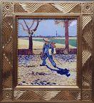 ゴッホ全身自画像を再現 大塚国際美術館、陶板画を常…