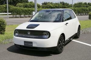 ホンダの電気自動車「Honda e(ホンダイー)」
