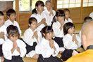 小学生が三日坊主修行 つるぎ・東福寺で26人