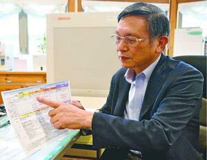 徳島でも感染の「第4波」が到来したとの見方を示す田山医師=徳島市内