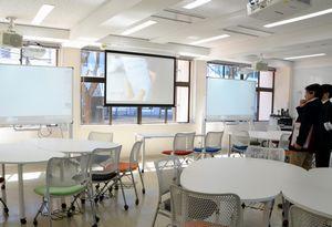 四国大に新しくできた「全学共通・地域教育センター」=徳島市応神町