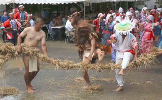 奄美大島「油井の豊年踊り」