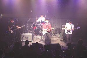 演奏の腕前を披露する高校生=徳島市の四国大