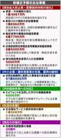 県補正予算の主な事業